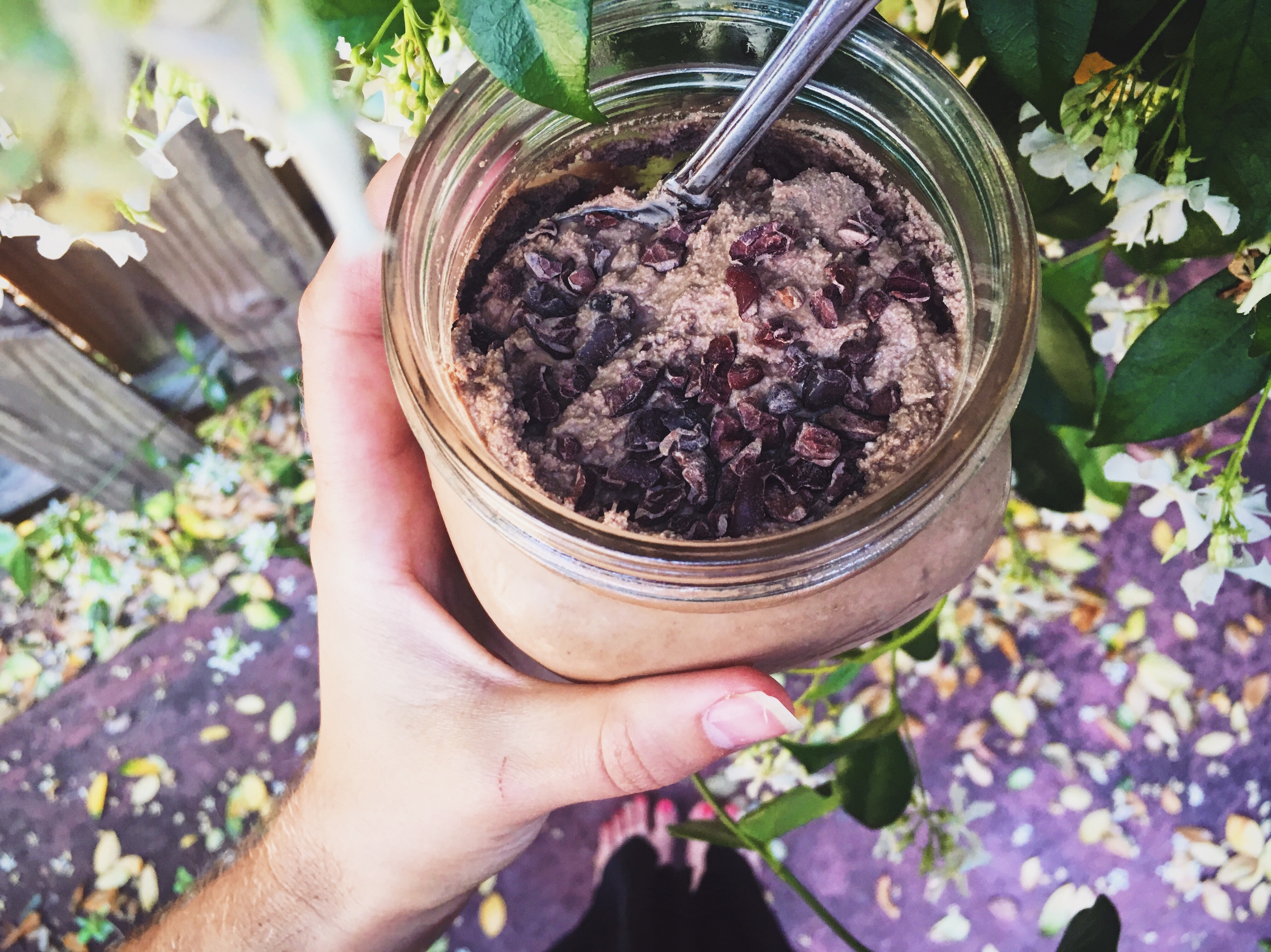 Vegan Chocolate Mousse with Stevia